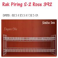 Rak Piring Susun 2 Rose 392 Simba Sun