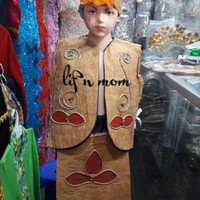 Baju adat anak pakaian papua kayu Lk - Pr