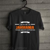 T1643 KAos Baju Combed 30S Distro Proud To Be Jakarta Persija