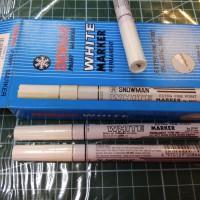 Paint Marker - Snowman - White Paint Extra Fine Point (each)
