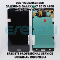 LCD TOUCHSCREEN SAMSUNG A7 2015 A700 HIGH COPY AMOLED KD-002855 - Emas