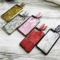 Samsung galaxy A7 2017 glitter rabbit soft case cover liquid cute A720
