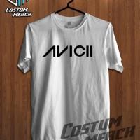 T2248 Kaos Tshirt Baju Combed 30S Distro DJ EDM Avicii Grade Ori