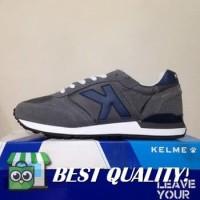 VinzoSport Sepatu Running/Lari Kelme Charles Dark Grey 46818-702 Orig