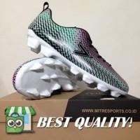 VinzoSport Sepatu Bola Mitre Motion FG Tosca Alloy Black T01010018 Or