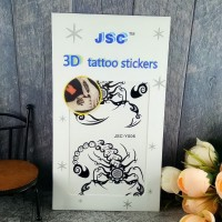 JSC Tattoo Sticker Stiker Tato Fake Mudah DIpasang Dan DIhapus PART 1