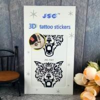JSC Tattoo Sticker Stiker Tato Fake Mudah DIpasang Dan DIhapus PART 3