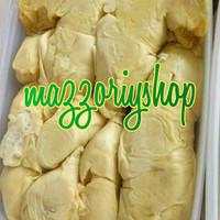 Durian kupas biji