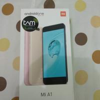 [SECOND] Xiaomi Mi A1 64/4 TAM Black 1bulan pakai, bonus case spigen