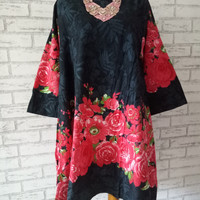 Blouse Import Tunic wanita big size/atasan wanita XXL/big mini dress