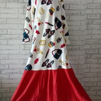 Dress mermaid Import wanita big size/Dress wanita Jumbo/maxi dress