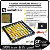 Novation Launchpad Mini MK2 - 64 Pad Launch Pad MK 2 Midi Controller