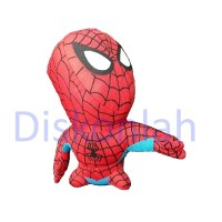 CUCI GUDANG - Boneka Plush marvel SPIDERMAN (Bahan Kain) - SALE