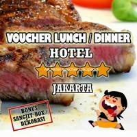 Voucher Lunch Dinner Hotel Jakarta