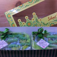 Coklat Matcha Dark Oreo Parcel Lebaran Idul Ied Chocolate Ketupat
