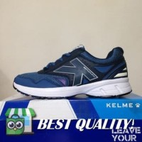 DribbleShop Sepatu Running/Lari Kelme Seattle Navy Blue 1314276 Origi
