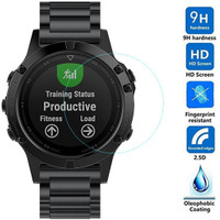 Tempered Glass Anti Gores Kaca Smartwatch Fenix 5