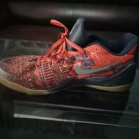 Sepatu Nike Kobe System 8 Easter DS (Merah-Hitam) Original Lose