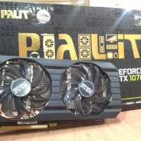 PALIT NVIDIA GeForce GTX 1070 8GB DDR5 DUAL Graphics Card