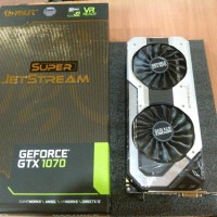 PALIT NVIDIA GeForce GTX 1070 8GB DDR5 Super JetStream Graphics Card