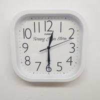 Jam Dinding Casio IQ-02 Wall Clock Casio IQ 02 Original 100% (Putih)