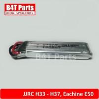 Baterai 3.7v 520mah JJRC H33 H37 25C Eachine E50 Battery 3,7v RC Drone