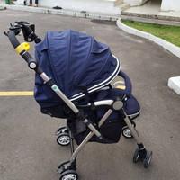 Stroller aprica soraria / preloved / stroller baby / joie