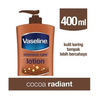 Vaseline Hand Body Lotion Cocoa Glow 400mL