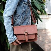 Basic mirrorless bag light brown