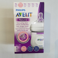 botol susu bayi philips avent feeding bottle 125ml /4oz natural