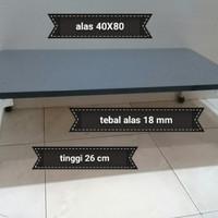 meja lipat laptop minimalis/meja lipat lesehan/meja belajar/meja kuat