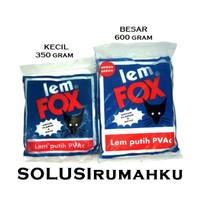 Lem Putih Lem Fox Besar 600 Gram Lem PVAC Lem Kertas Lem Kayu