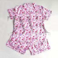 1 Set Baju Tidur Tangan & Celana Pendek - Spring Set