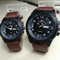 jam tangan couple Swiss army cowok cewek hari tgl aktif