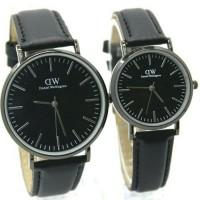 terlaris jam couple dw murah / 1093 hitam