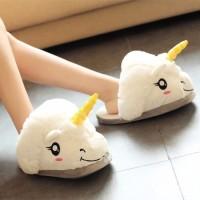 sandal rumah unicorn