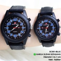 JAM TANGAN COUPLE SWISS ARMY FOSSIL ALEXANDER CHRISTIE CASIO GUESS NEW