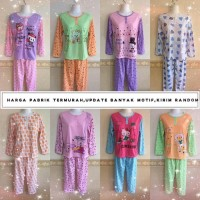 Baju Tidur Kaos Katun/Baby doll/Piyama/PP
