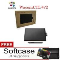 New Wacom One Small CTL-472 Pen Tablet Wacom Ekonomis Garansi Resmi