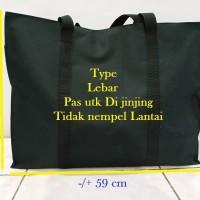 tas travel/tas barang/tas belanja ukuran besar lebar