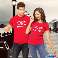 BAJU COUPLE PD PANAH ONE LOVE
