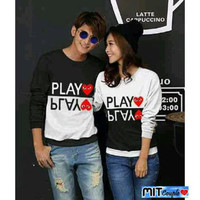 BAJU COUPLE LP PLAY LOVE