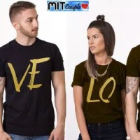 BAJU COUPLE PD LOVE GOLD