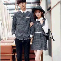 DRESS COUPLE CHERRY (NO BELT)