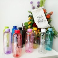 NEW MY BOTTLE 1000ML FULL COLOUR ( BAHAN PC TEBAL ANTI PECAH ) TLSHOP