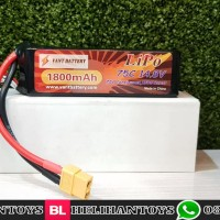VANT 1800MAH 14.8V 75C LIPO BATTERY FOR DRONE RACING - VANT1800XH75-4S