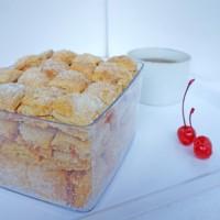 Pastry Almond Kotak Kue Kering Lebaran