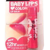 Maybelline Baby Lips Color Lip Balm Pink Lolita SPF20 Lip Gloss