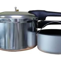 Miyako PC-700 Pressure Cooker - Presto 7 Liter - Panci Bertekanan Uap