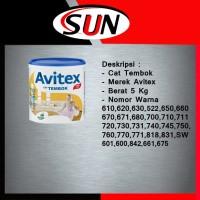 Cat Tembok AVITEX 5 kg ( Khusus Go jek )
